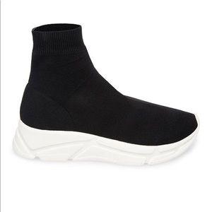a73c9ef23fc Steve Madden Shoes - Steve Madden Bitten Balenciaga Look Sock Shoes